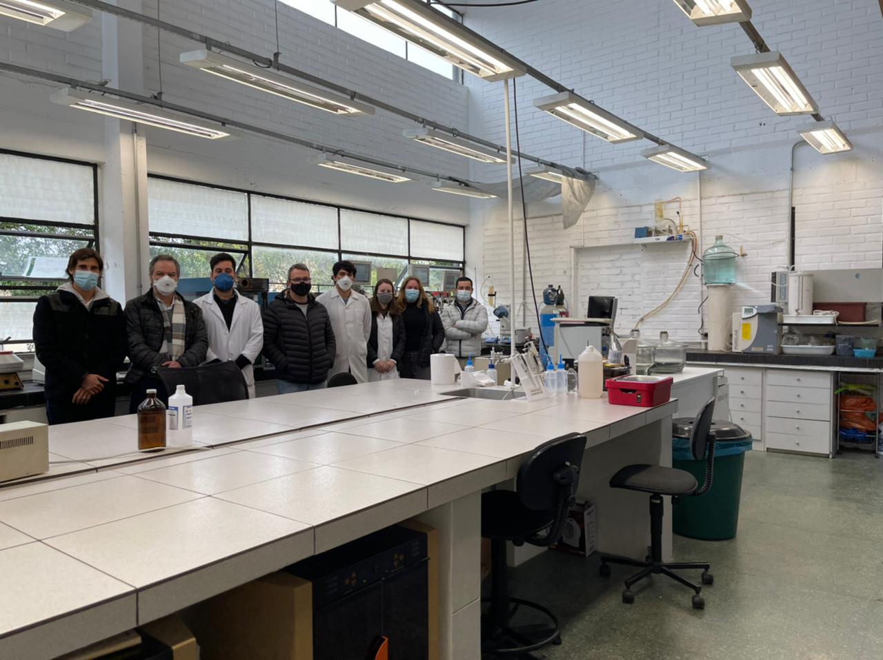 Equipe que está desenvolvendo o projeto inclui pesquisadores do mestrado, doutorado e pós-doutorado da UFPR.