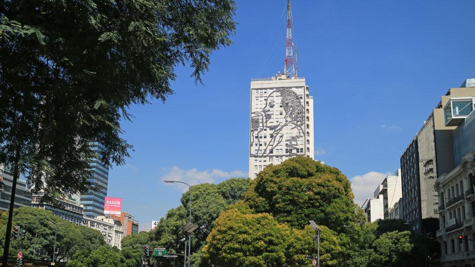 Edifício do Ministério da Saúde da Argentina, em Buenos Aires