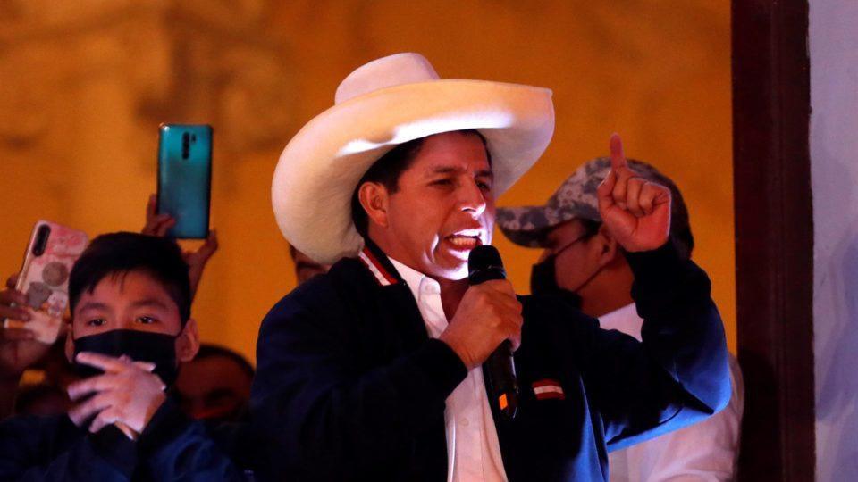 Pedro Castillo, presidente eleito do Peru, 19 de julho