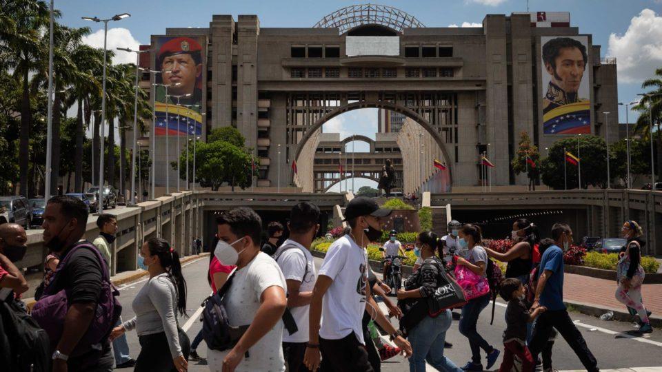 Palácio de Justiça da Venezuela na capital Caracas, 15 de julho