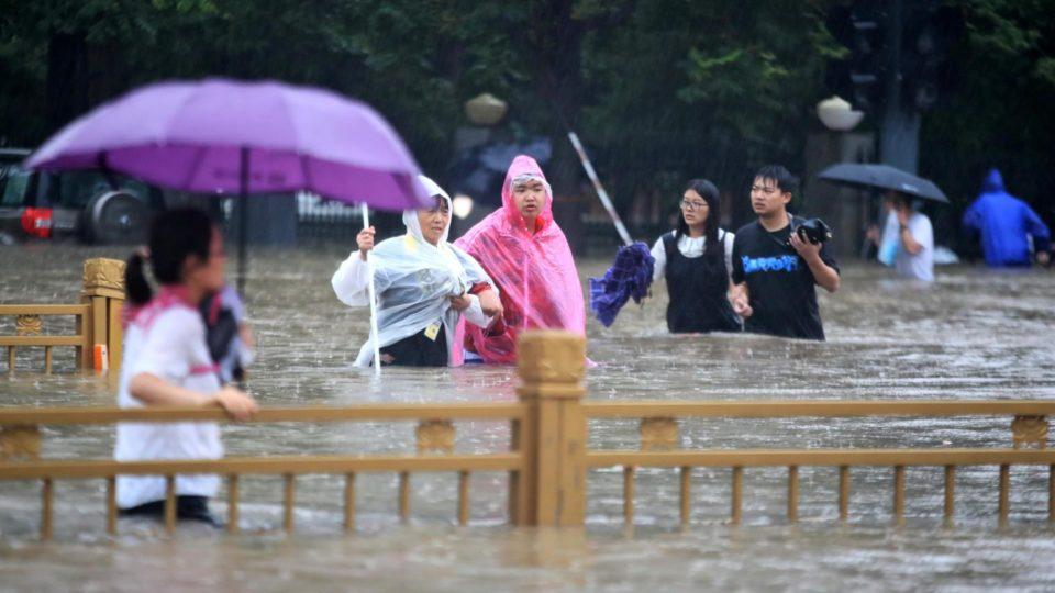 china chuvas
