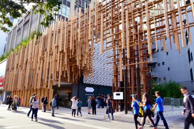 Projeto da Japan House, em São Paulo, usa madeiras brasileiras e japonesas para representar a conexão entre os dois países.