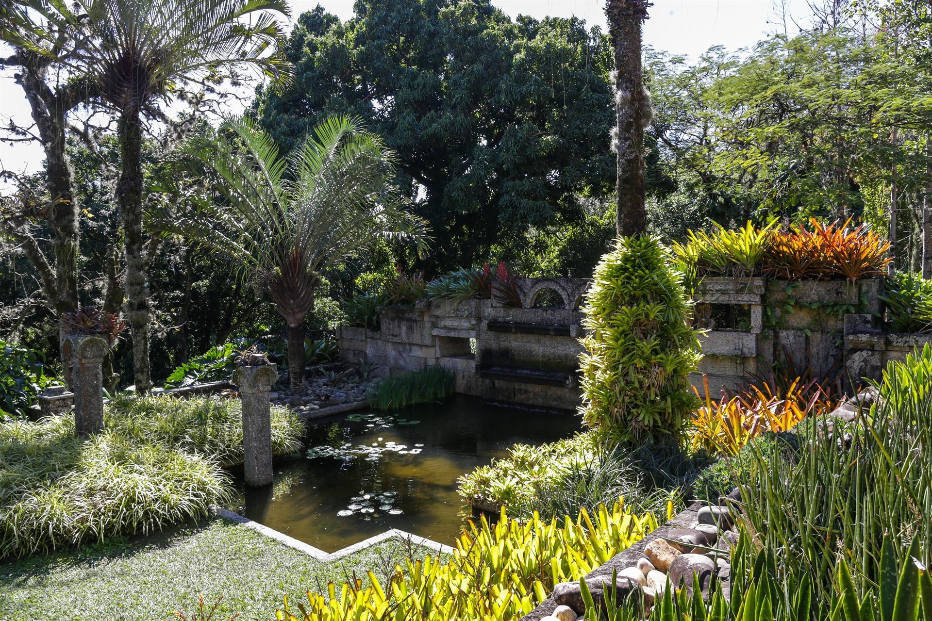 Mais de 3,5 mil espécies compõem os jardins.
