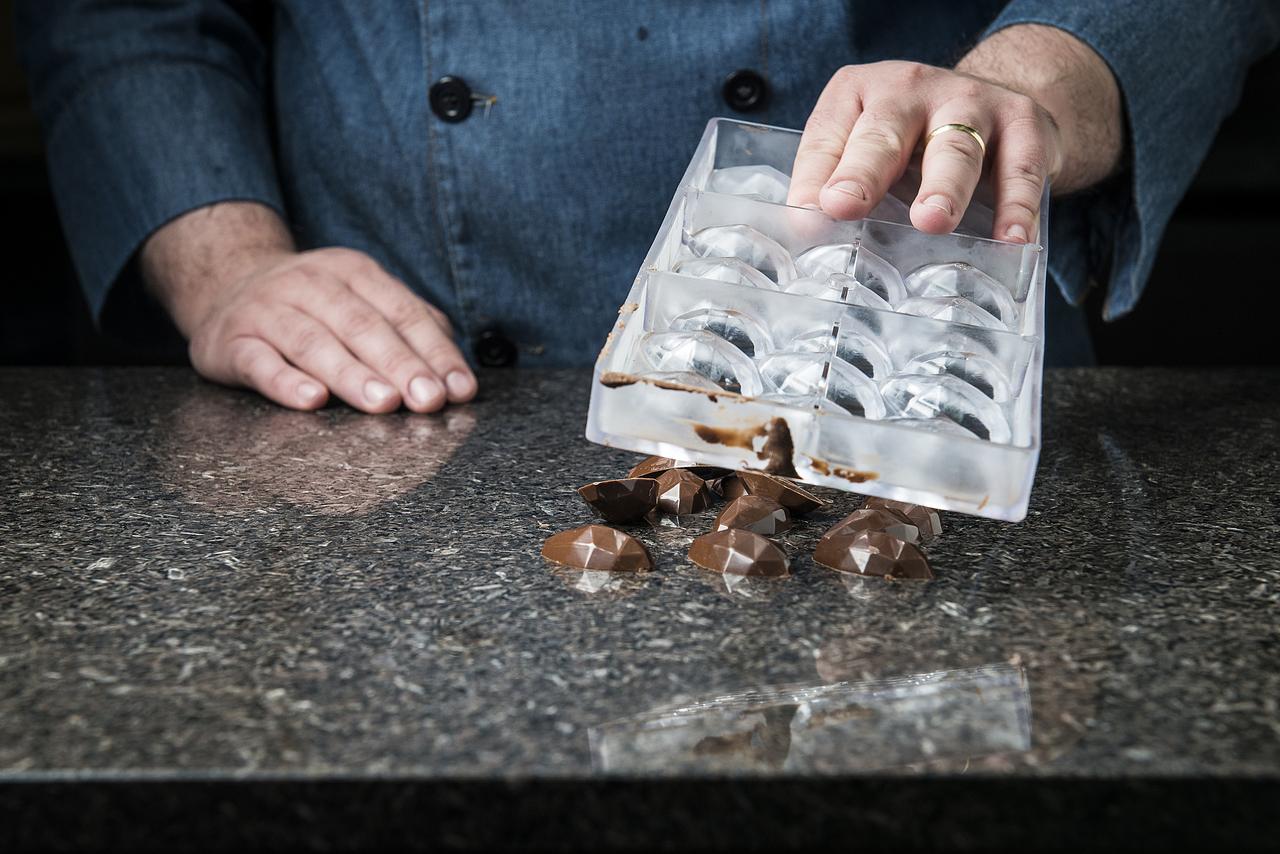 temperagem do chocolate