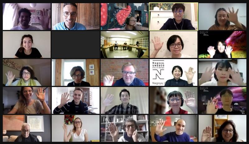 Alguns dos participantes das 26 cidades do mundo que integram o desafio da Unesco.