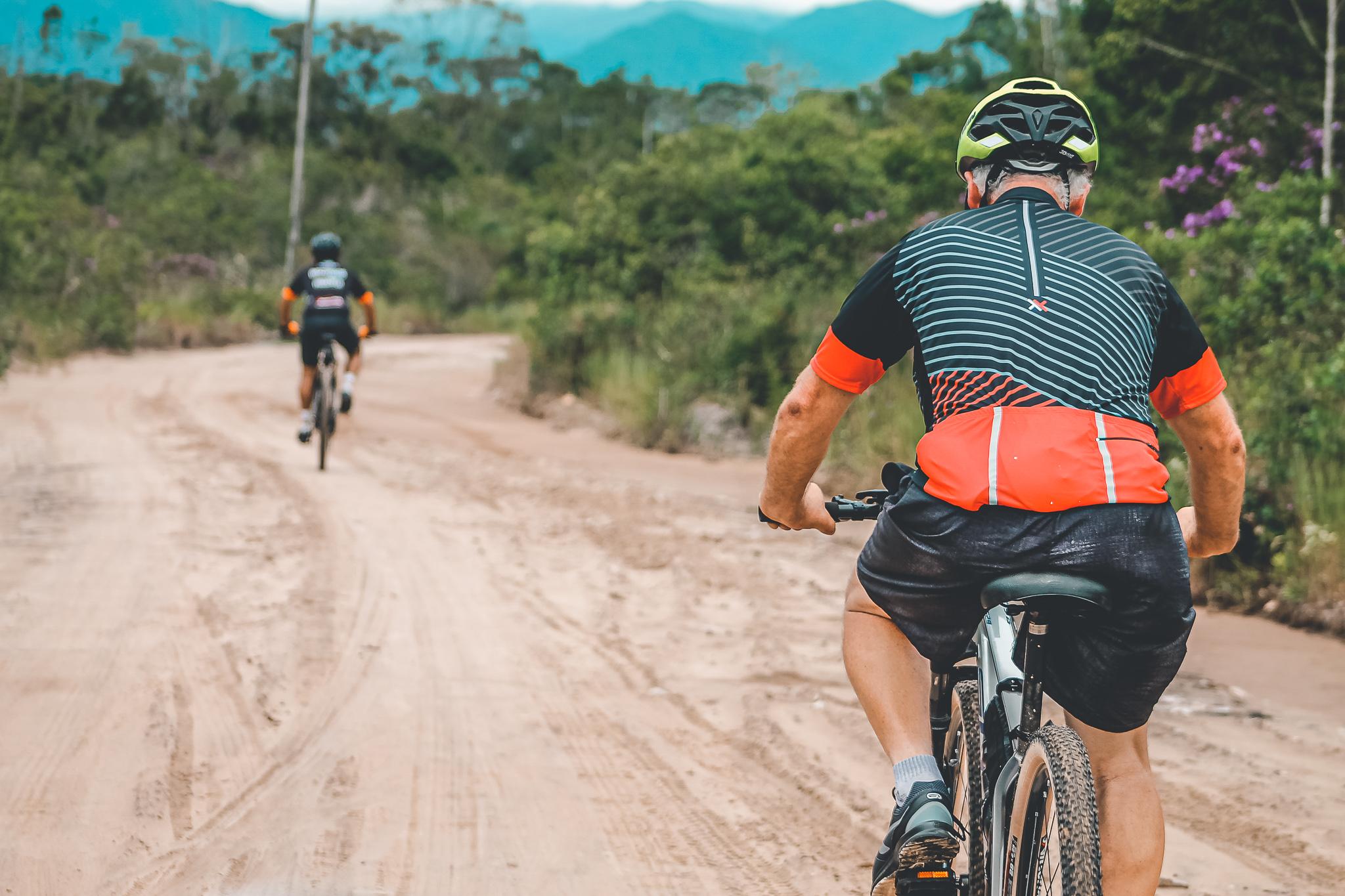 Houve evento-teste de ciclorrota no litoral do Paraná no início do ano