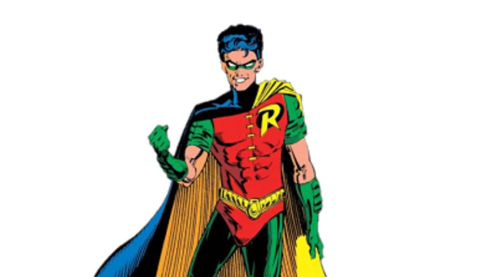 """DC Comics confirma que a nova versão de Robin, parceiro de Batman, """"sai com rapazes""""."""