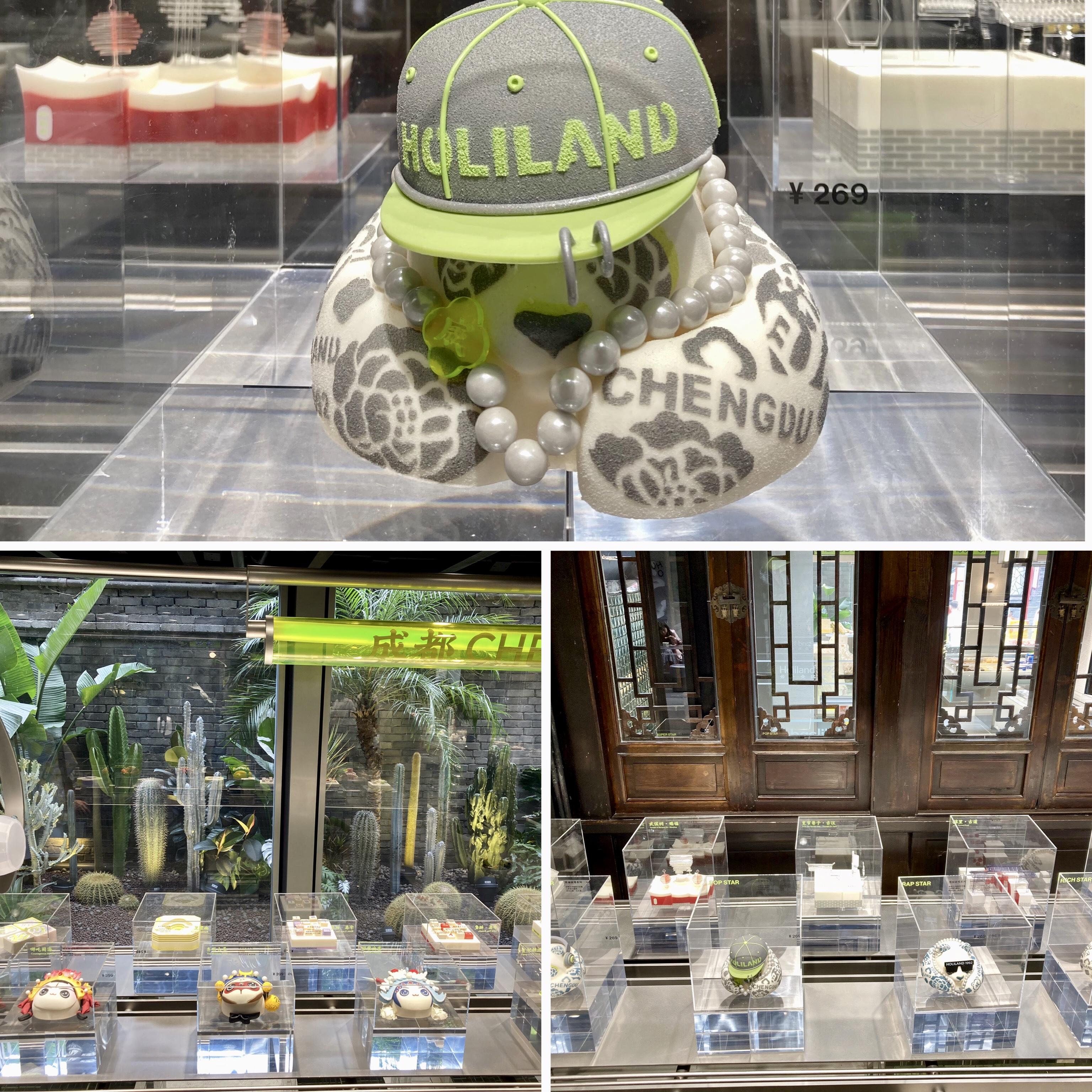 """E o salão da loja conceito, nos surpreende, novas """"exposições"""", novas propostas de bolos em formatos ainda mais inusitados, ainda mais perfeitos, ricos em detalhes!"""