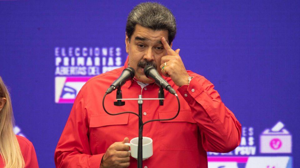 O ditador venezuelano, Nicolás Maduro.