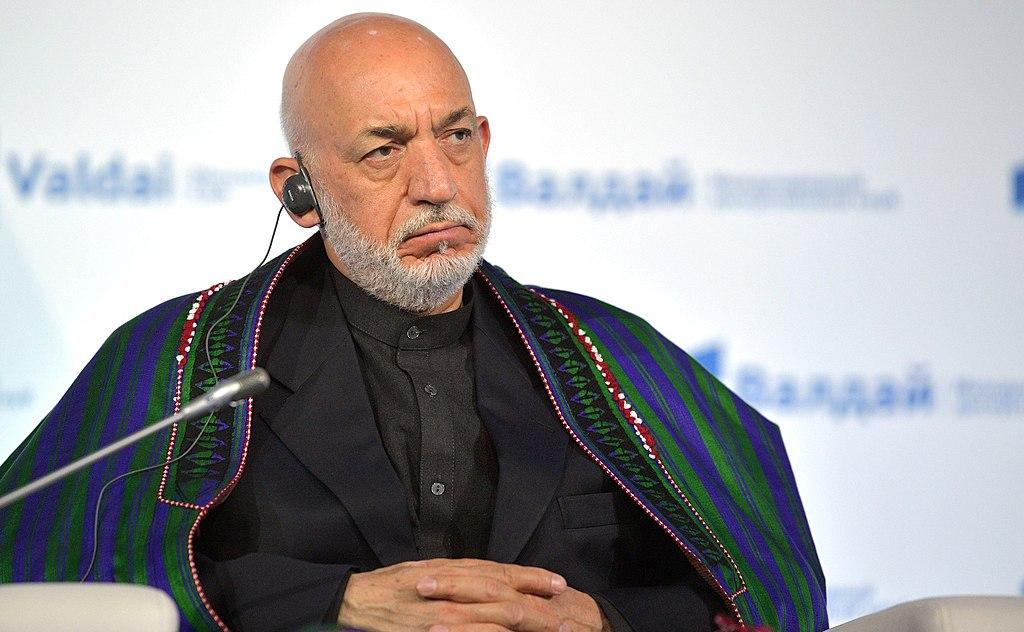 Hamid Karzai, ex-presidente do Afeganistão   Foto:  Serviço de imprensa do Presidente da Federação Russa/Wikimedia