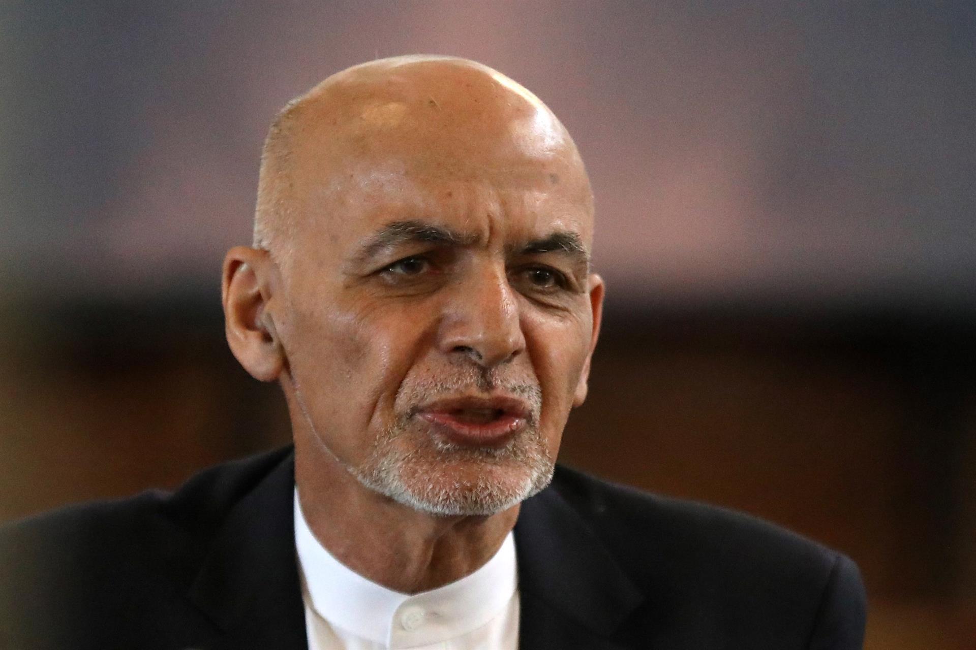 Ashraf Ghani, ex-presidente do Afeganistão   Foto:  HEDAYATULLAH AMID/EFE