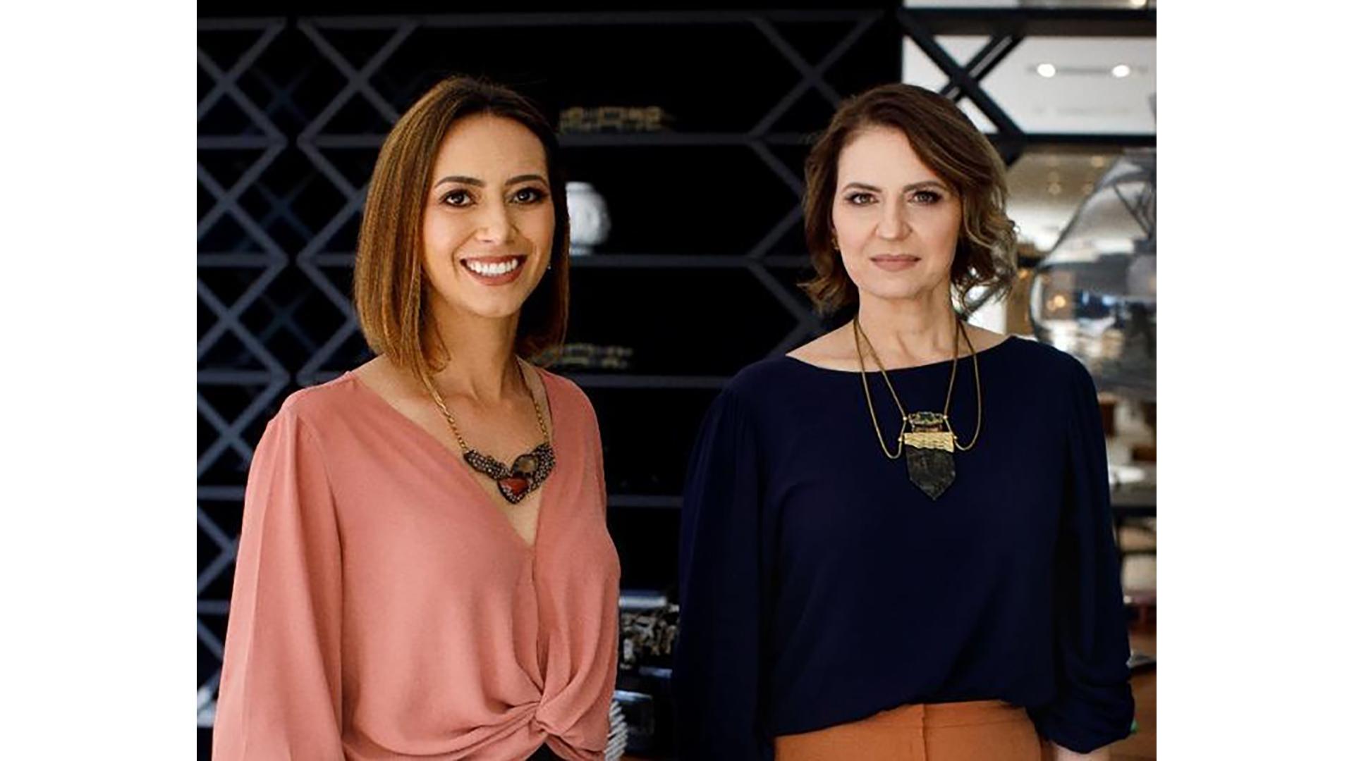 Dani Amorim e Karla Giacomet apresentam o workshop Marca Pessoal: Da essência à aparência, na Confraria do Instituto Connect.