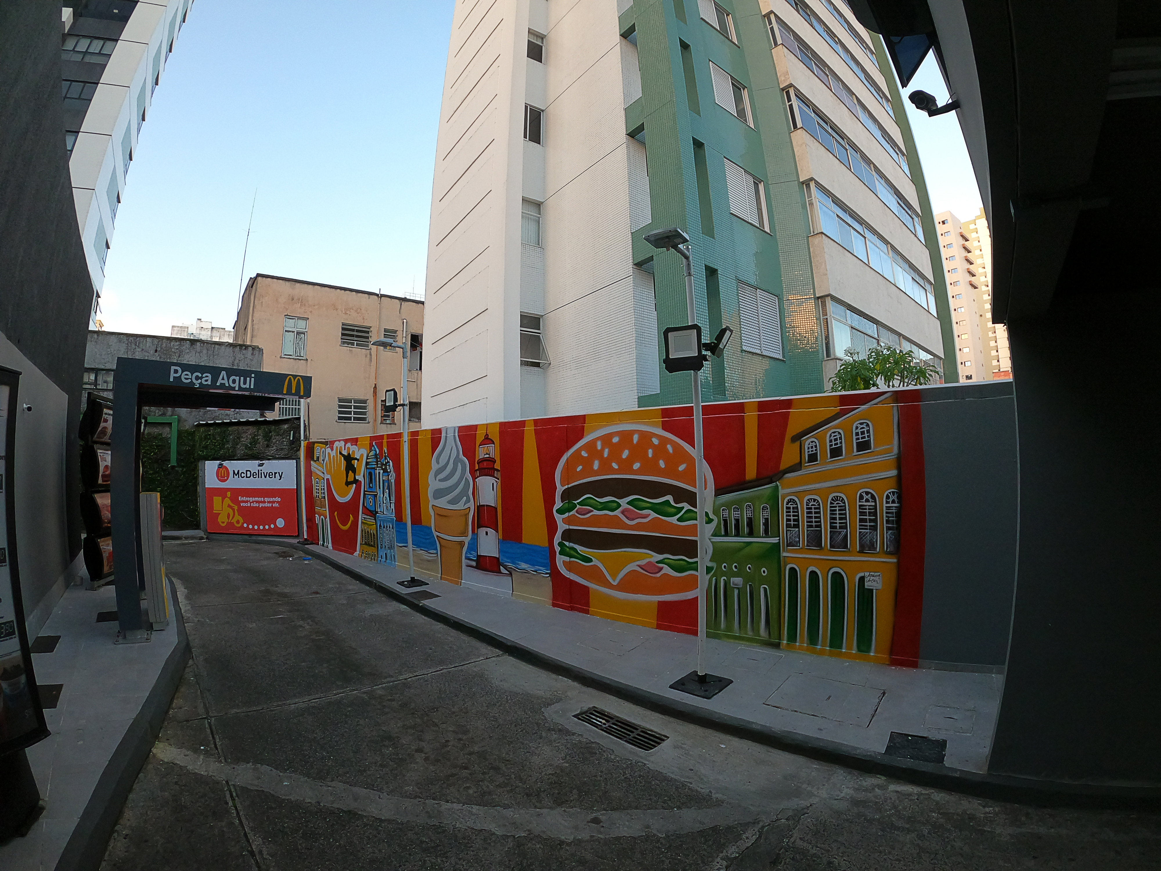 Grafite em Salvador.