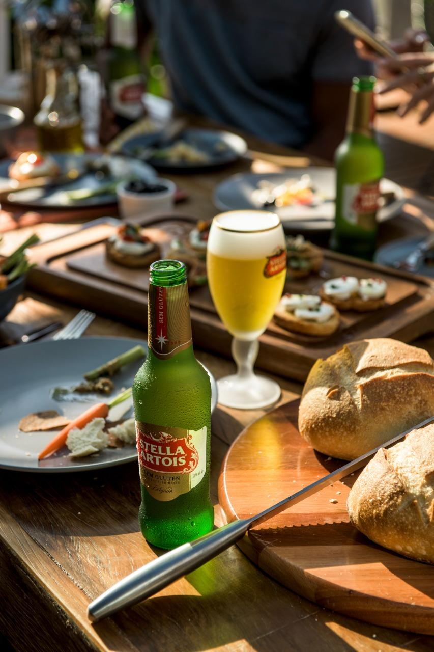 Portinha Artois, um restaurante e espaço conceito temporário de Stella Artois inaugurado em São Paulo.