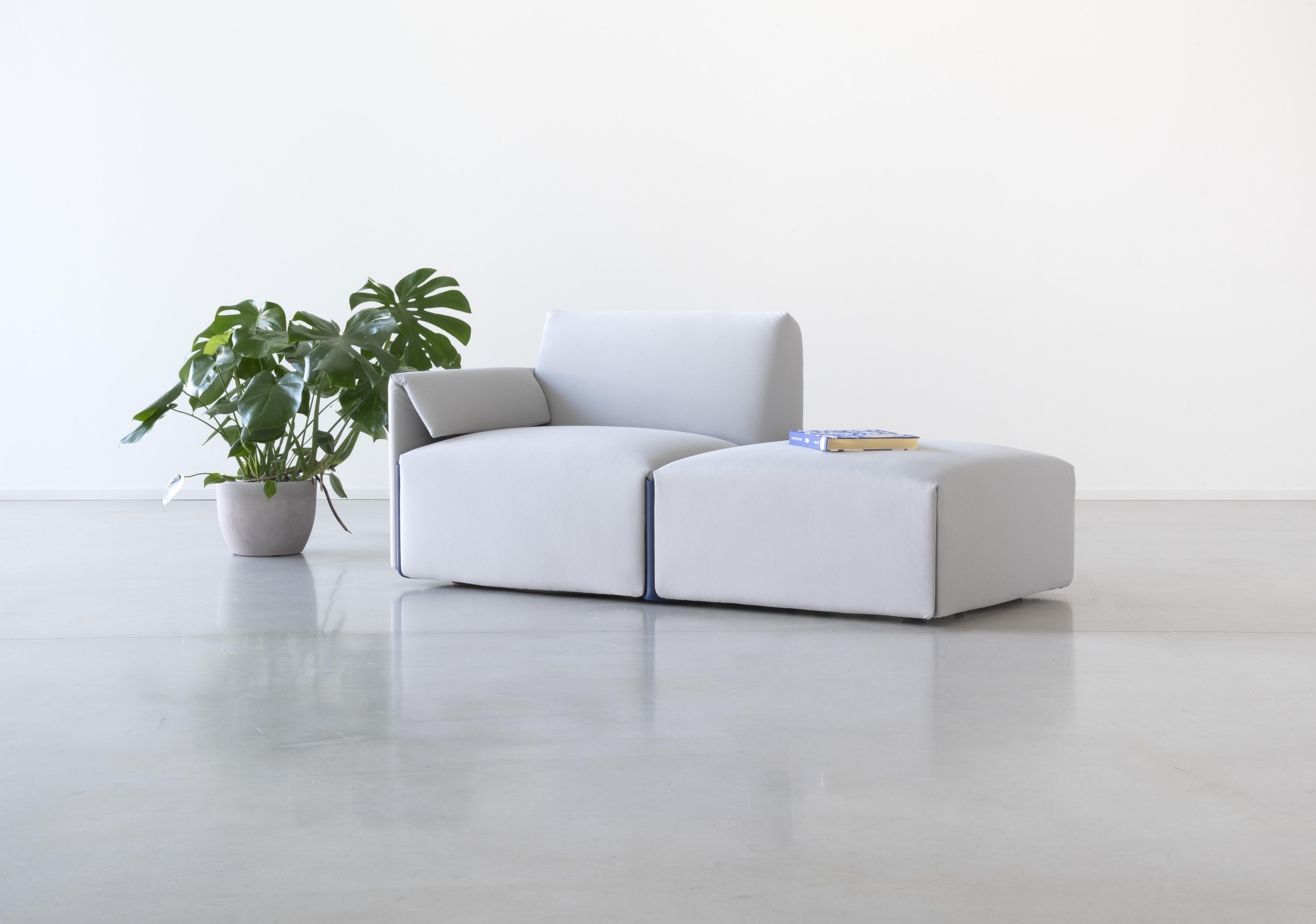 Stefan Diez assina sistema de sofá modular Costume para Magis.