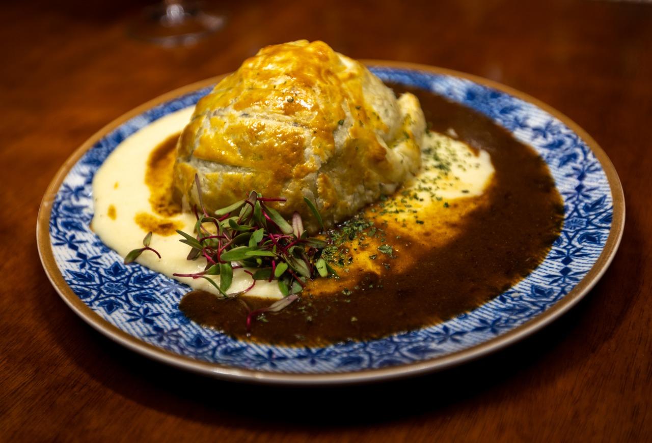 Beef Wellington, receita (quase) tradicional.