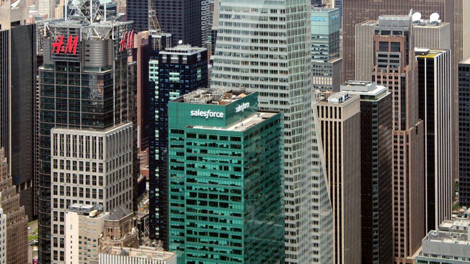 Torre da Salesforce em Nova Iorque: empresa anunciou que vai realocar funcionárias do Texas que quiserem abortar