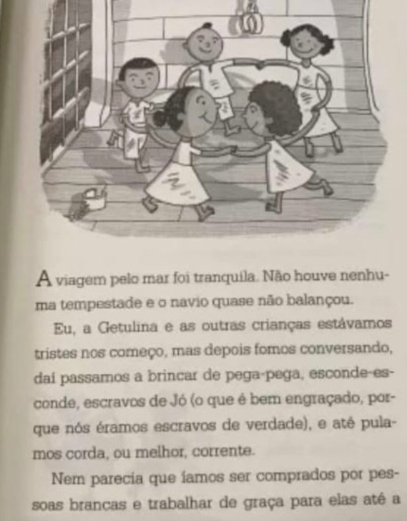 """Página do livro """"Abecê da liberdade"""""""