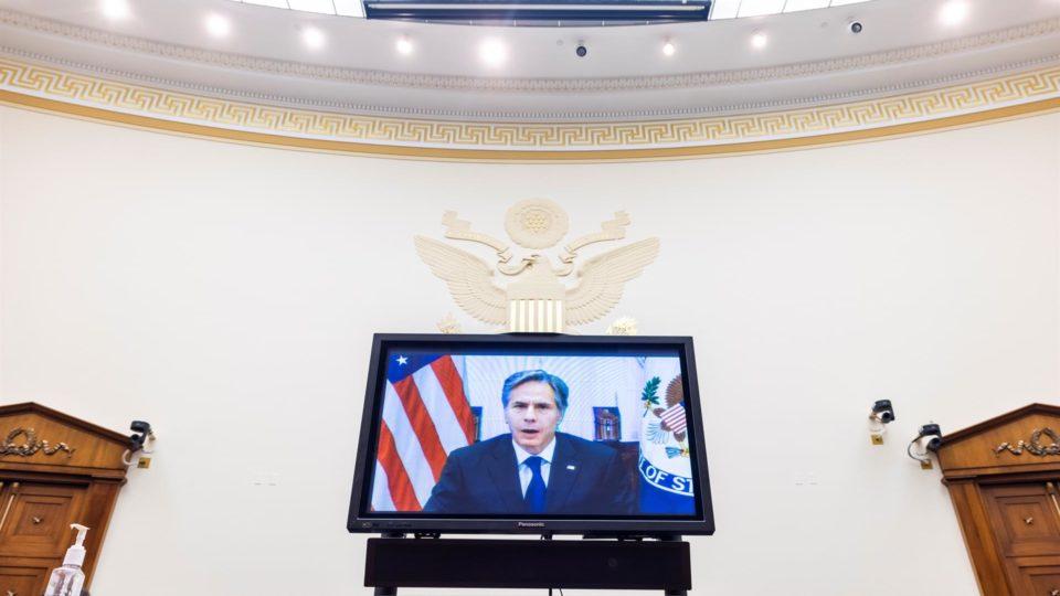 Antony Blinken participou de audiência virtual da Comissão de Relações Exteriores da Câmara dos Deputados