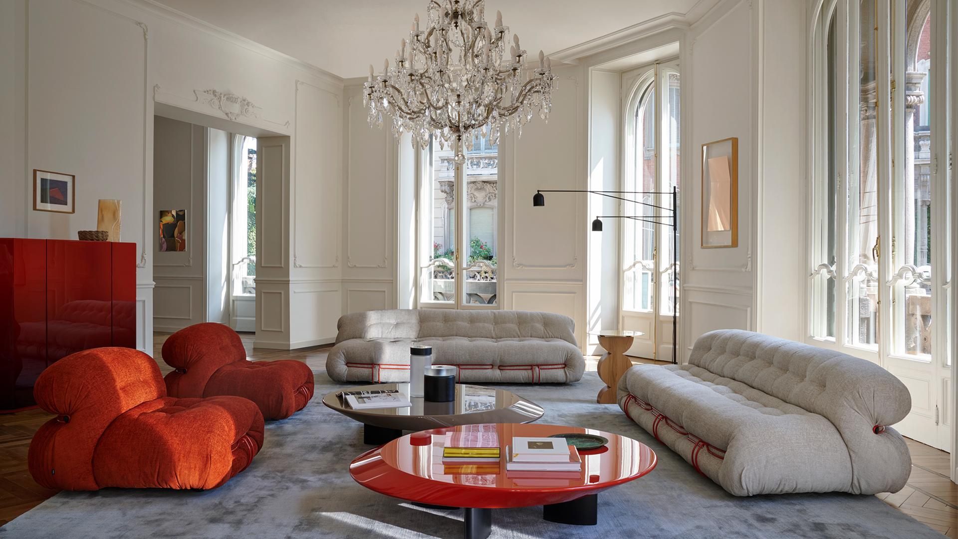 As cores tiveram destaque no evento, principalmente o laranja e o verde, que apareceu não só nos móveis, mas nas plantas integradas aos ambientes