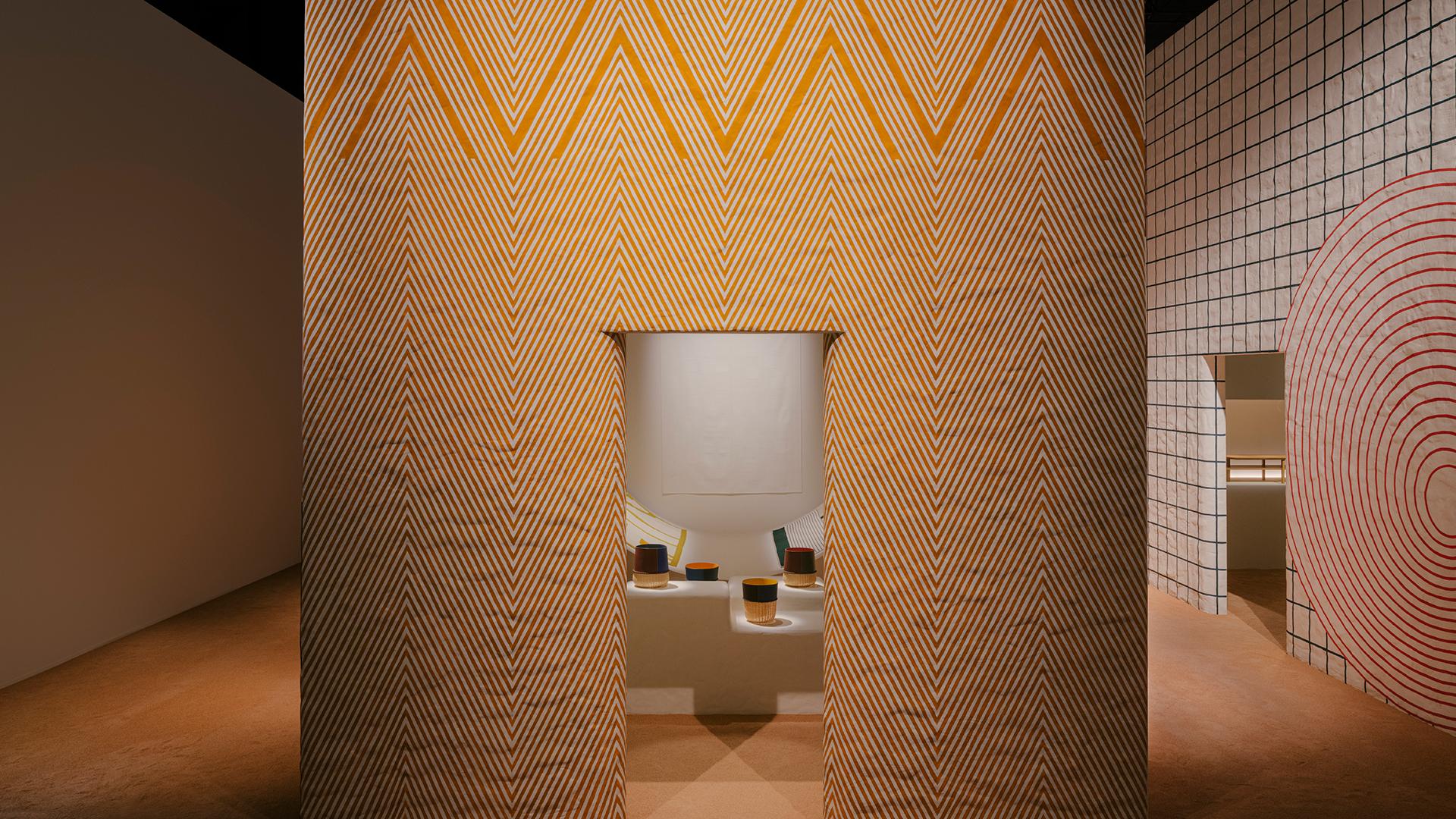 Quem visitou a exposição da Hermès ficou encantado com a experiência sensorial criada pela marca para apresentar sua nova coleção de objetos decorativos