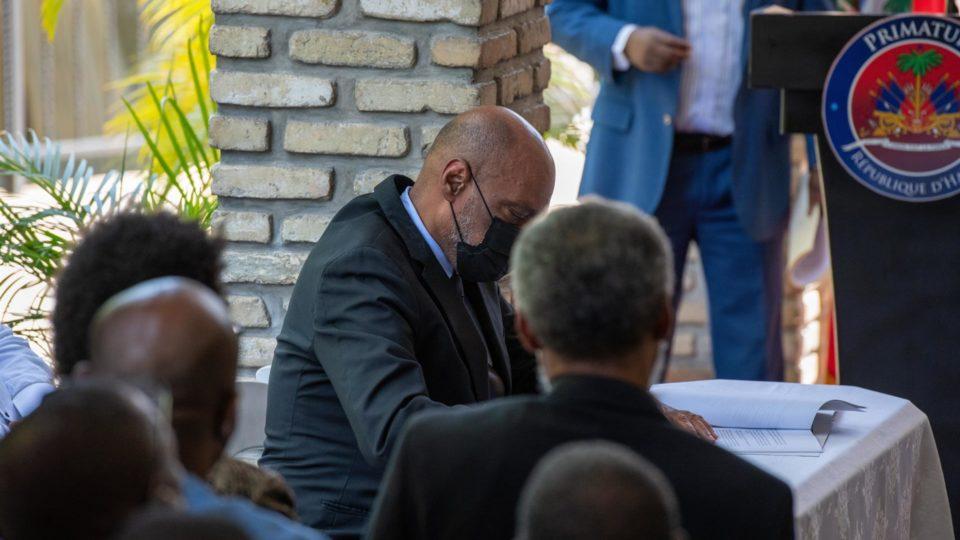 O primeiro-ministro do Haiti, Ariel Henry