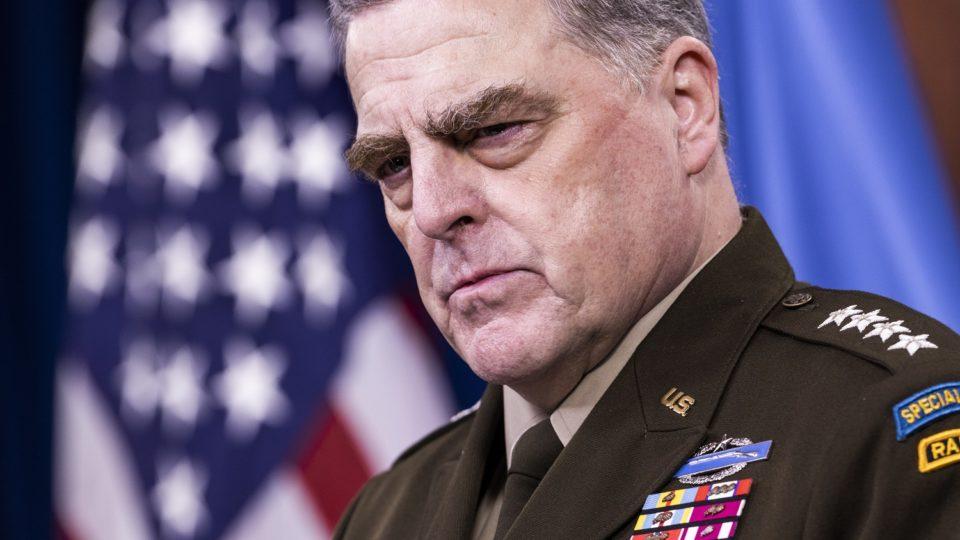 O general Mark Milley, chefe do Estado-Maior americano