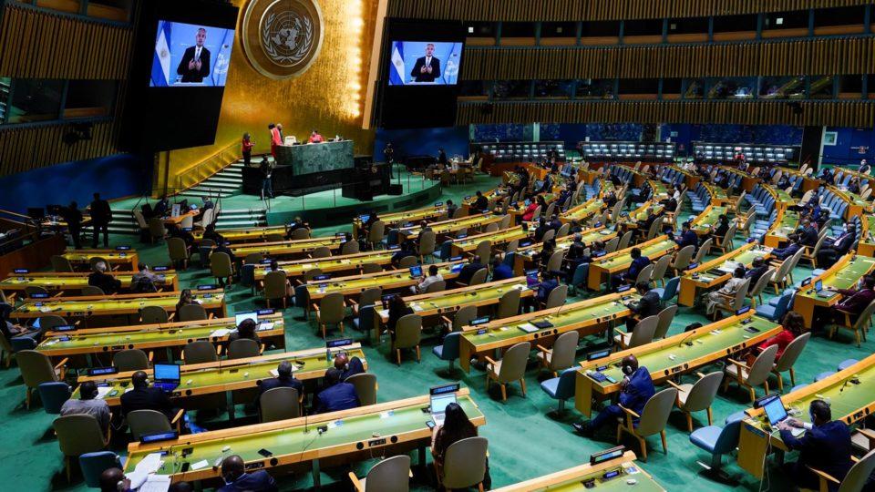 Presidente argentino falou em mensagem gravada