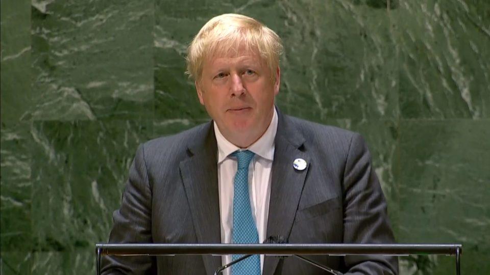 Em discurso nas Nações Unidas, primeiro-ministro britânico cobrou compromisso efetivo para reduzir emissões de carbono