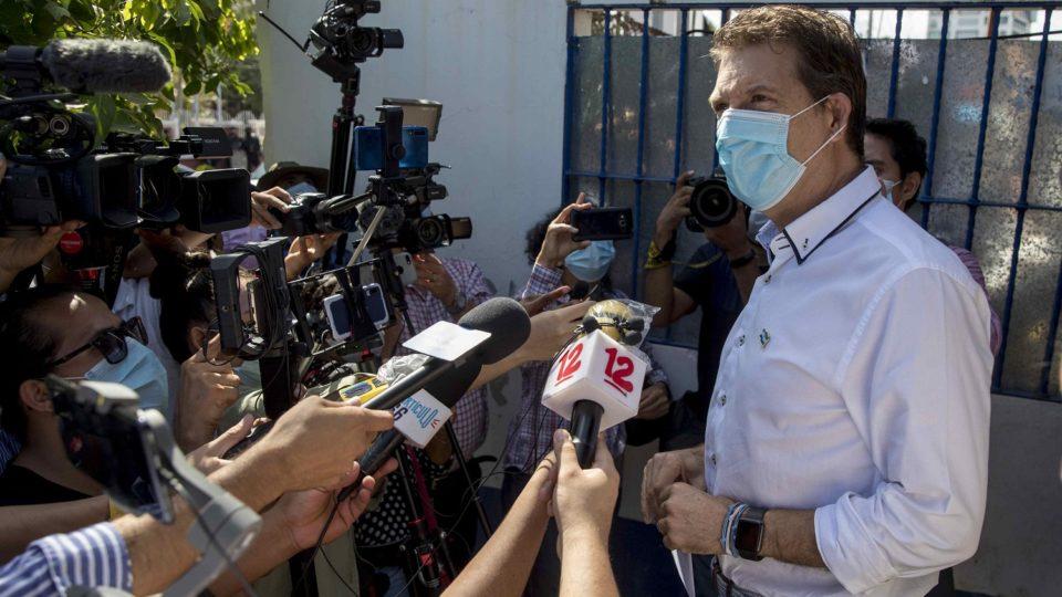 Holmann Chamorro, diretor-geral do jornal La Prensa, está preso desde agosto pela ditadura de Daniel Ortega
