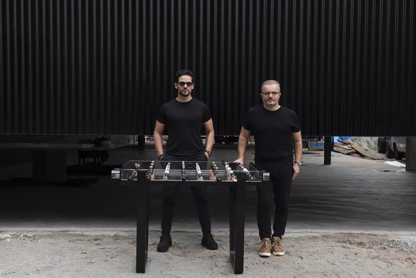 André Gurgel e Felipe Bezerra são os fundadores da Mula Preta.