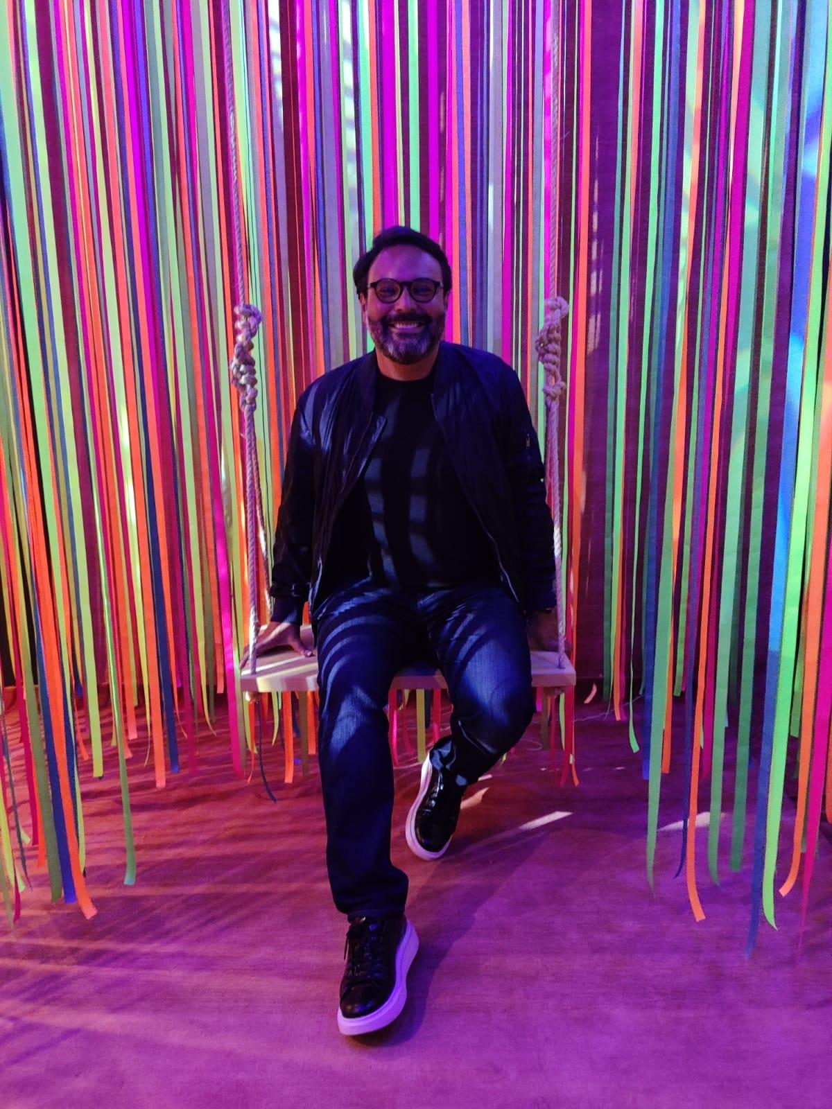 Bruno Carvalho, idealizador da instalação da Botteh