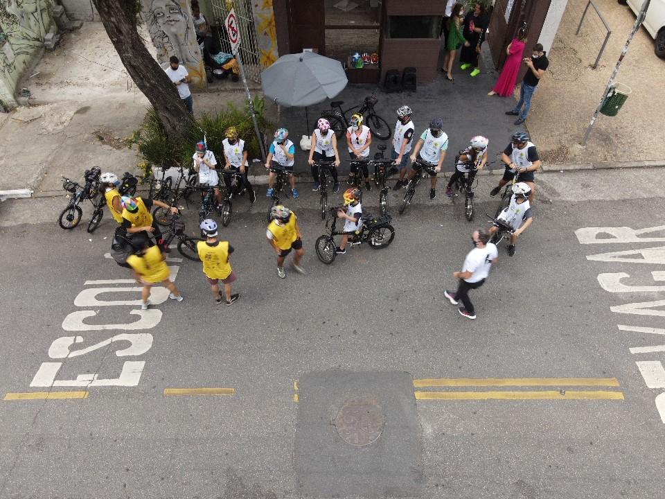 Tour de bike passa pelos principais pontos dos bairros Vila Madalena e Pinheiros.