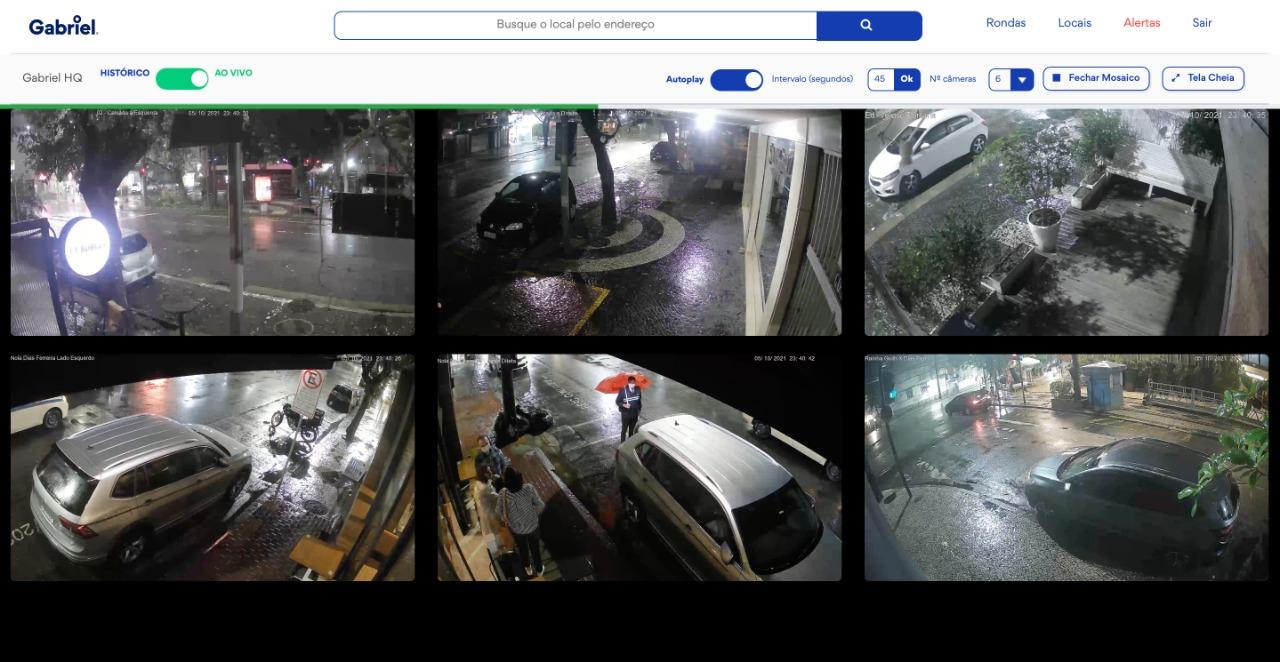 Sistema de câmera inteligentes da Gabriel