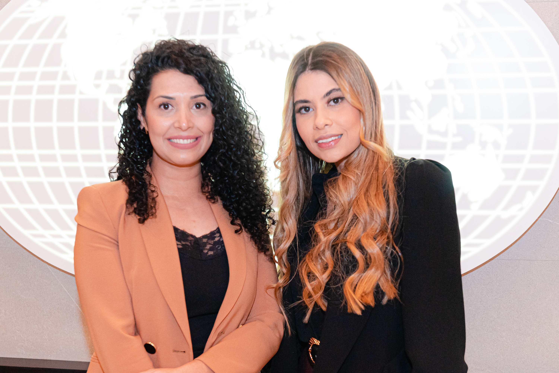 Fernanda Walter e Rafaela Dalmolin