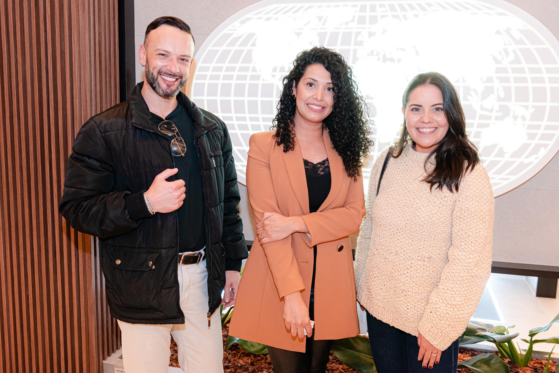 Leonardo Gazzalle, Fernanda Walter e Maiara Faria