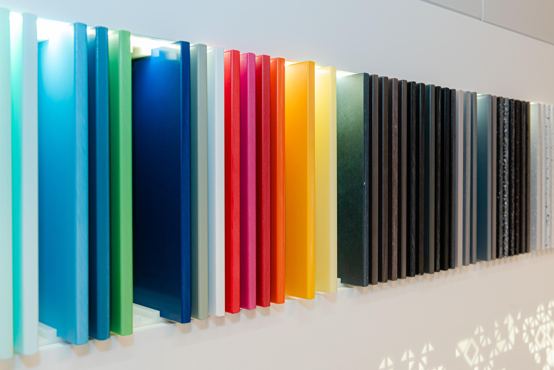 Krion está disponível em diversas cores.