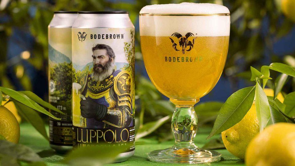 Lupolo Limoncello, la nuova birra di Botbrown, confezione molto bella e gusto diverso.