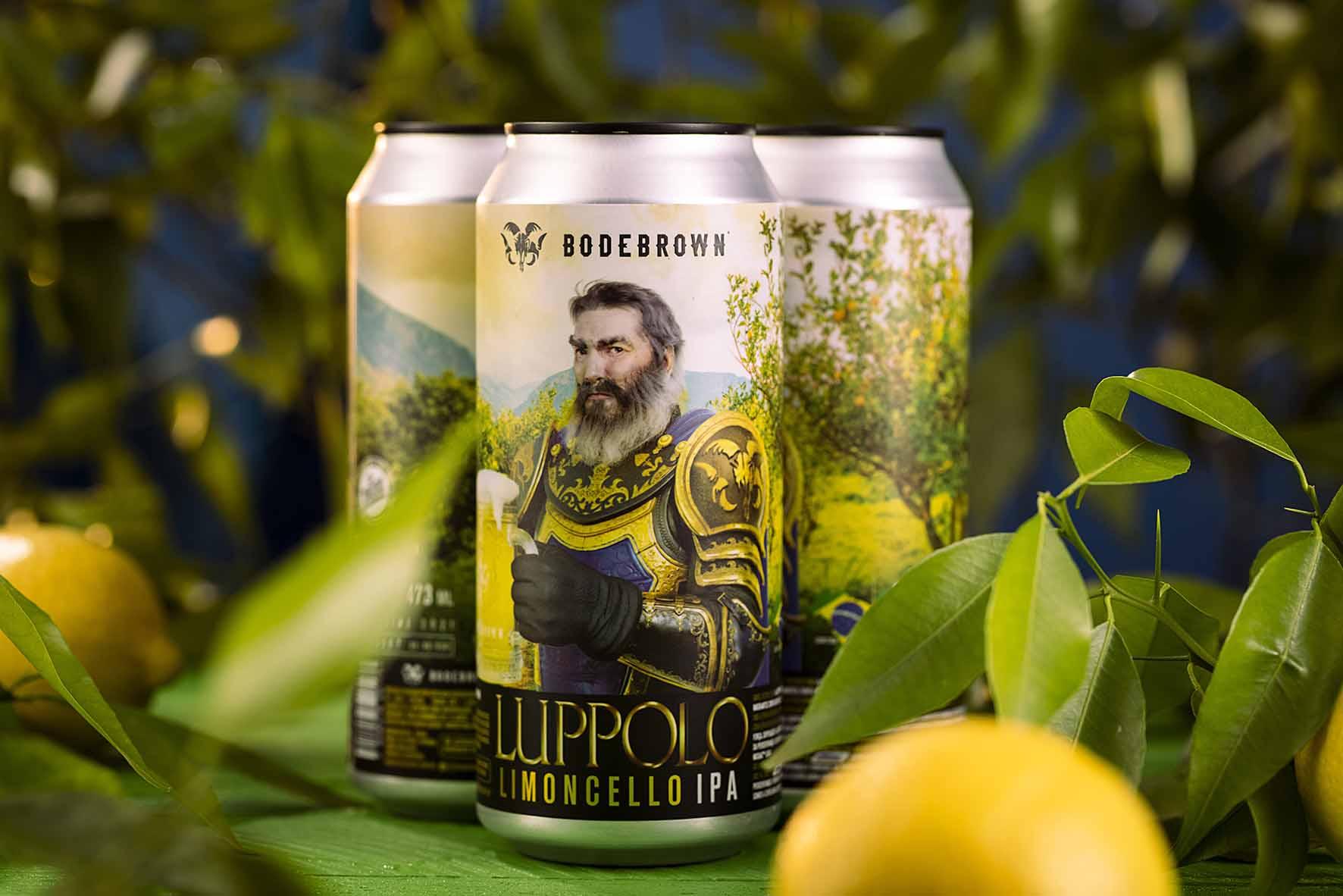 O limão siciliano está presente na cerveja Luppolo Limoncello, tanto no aroma quanto no sabor.
