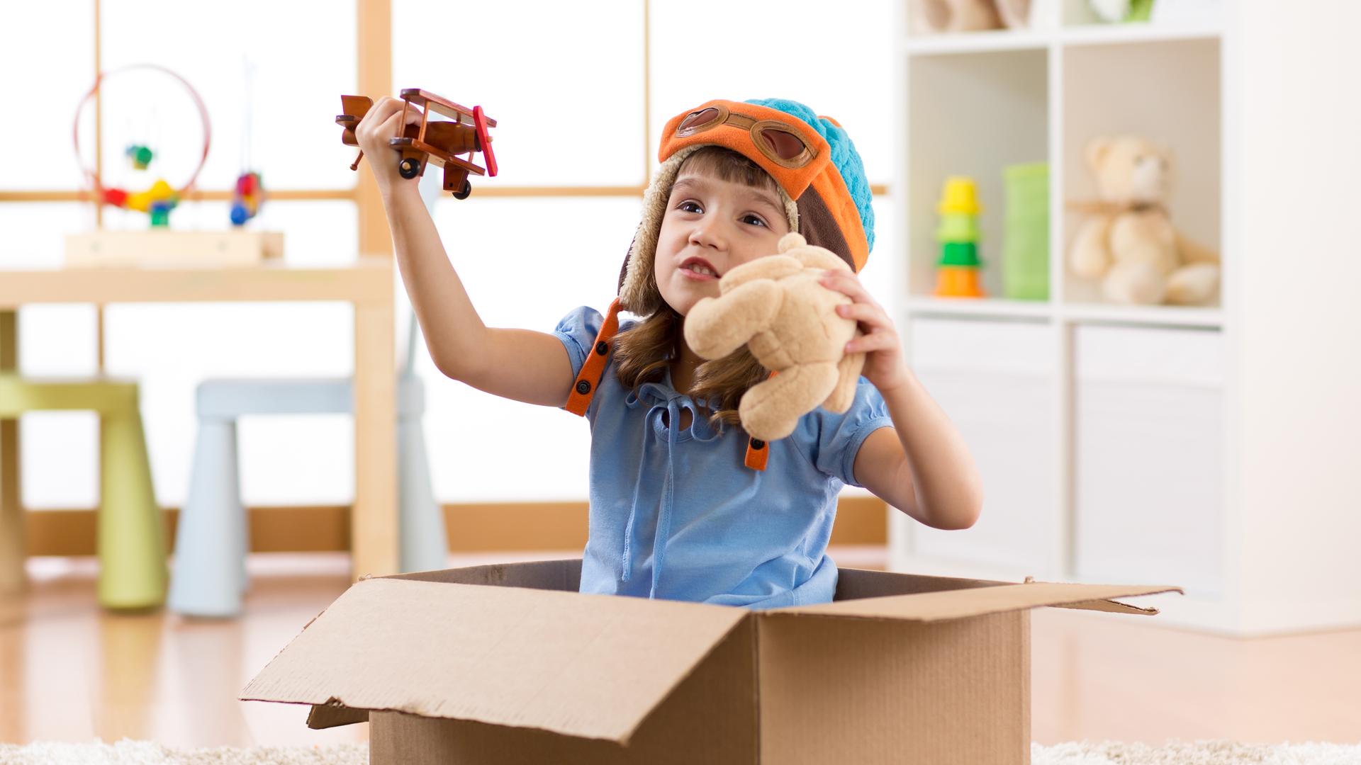 Brinquedotecas nos quartos de dormir aumentam o lado lúdico do cômodo.
