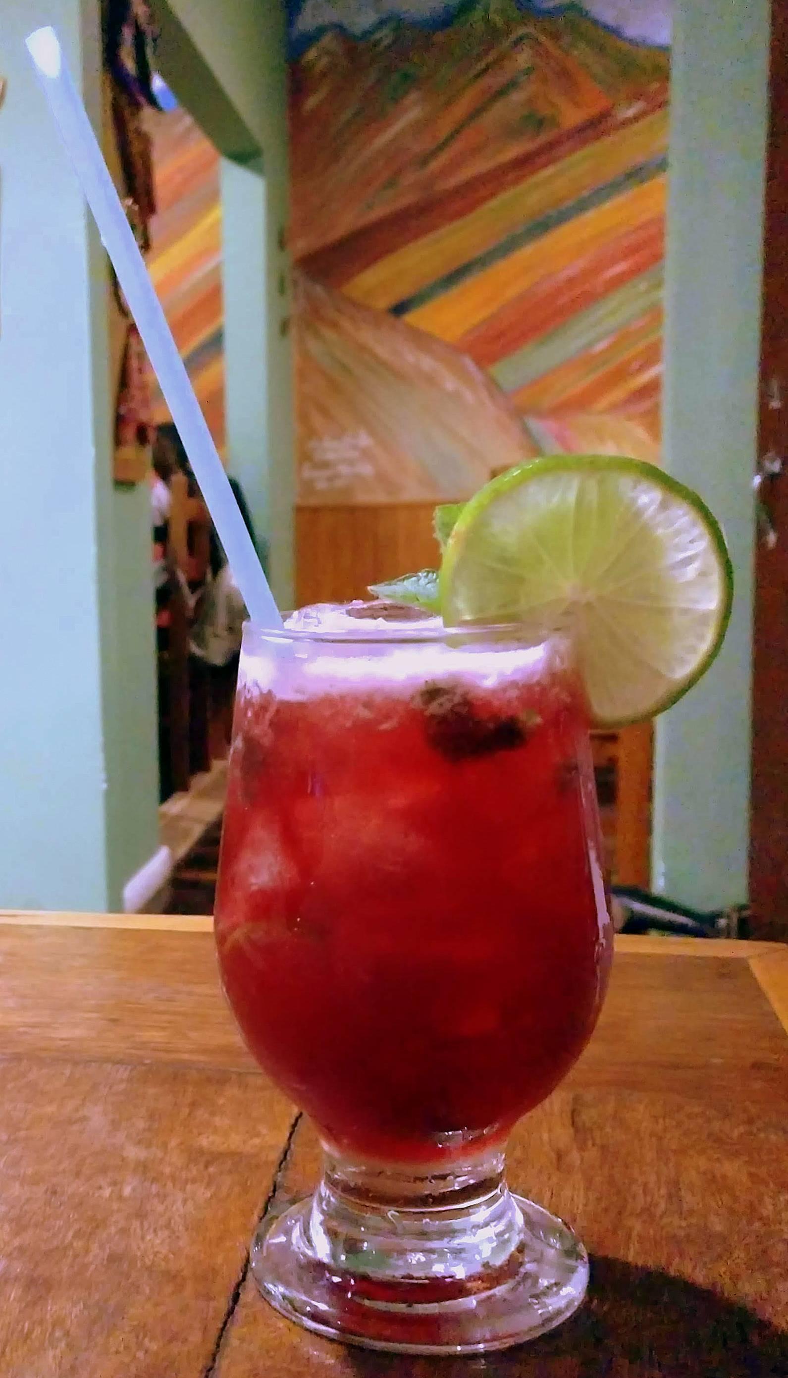 Enamorada, o drinque para um brinde típico peruano.