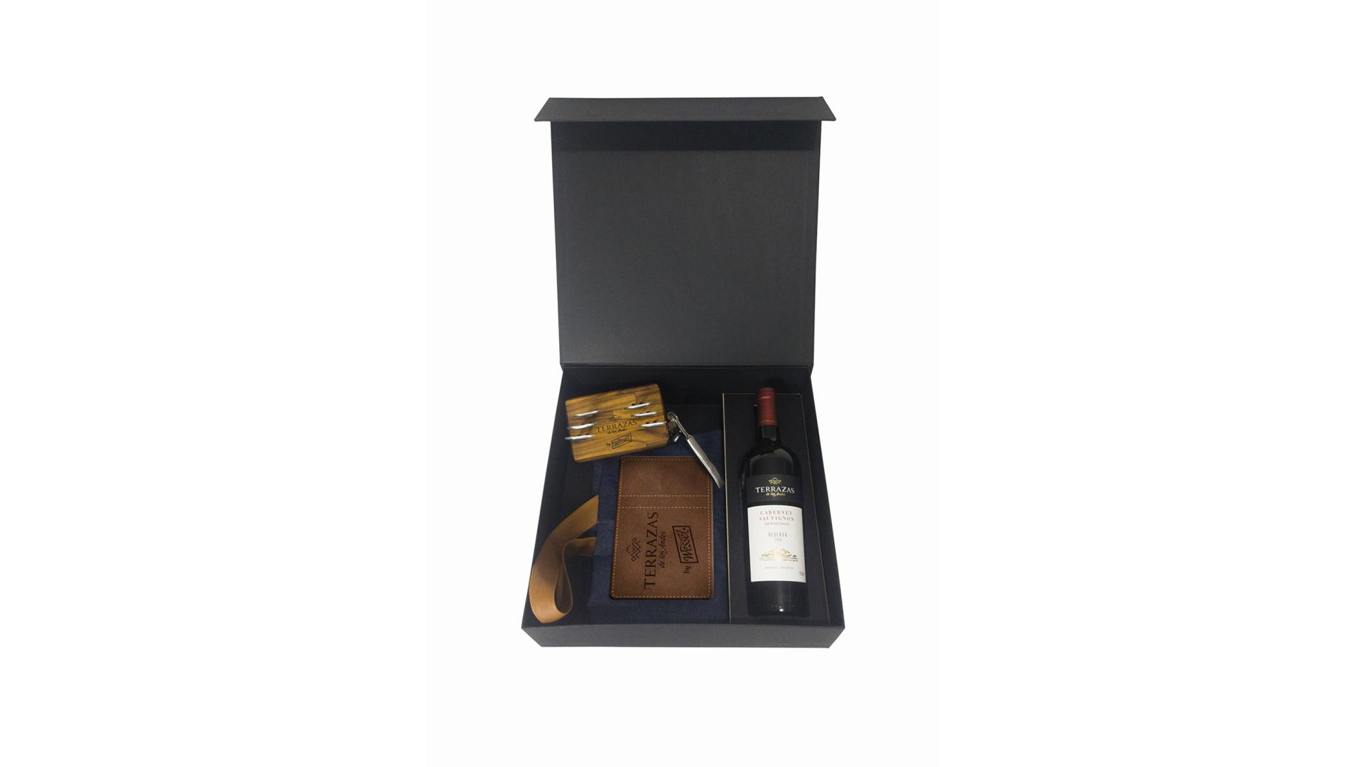 Kit experiência Terrazaz de Los Andes + Wessel Moët Hennessy