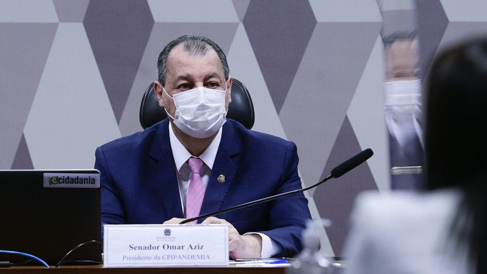 Aziz confirma entrega do relatório da CPI da Covid a Augusto Aras