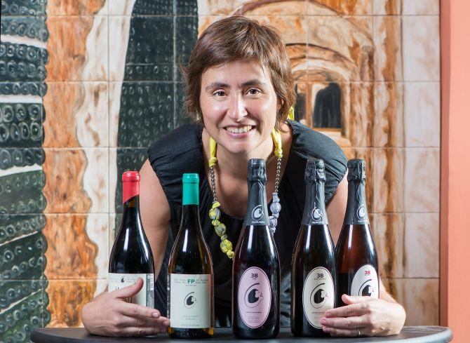 A enóloga portuguesa Filipa Pato produz vinhos biodinâmicos na região da Bairrada. Foto: Letícia Akemi/Gazeta do Povo