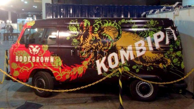 A KombIPA, food truck da Bodebrown, estará estacionada na Mestre-Cervejeiro.com neste sábado. foto: divulgação