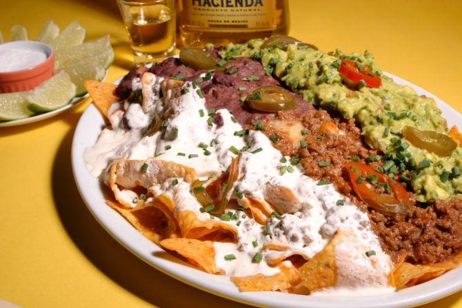 Ultimate Nachos, prato do Mustang Sally. Foto: divulgação