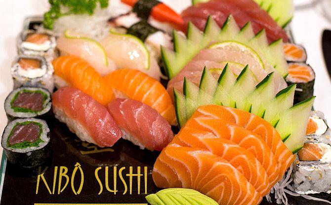 Opções do Kibô Sushi. Foto: Celso Pilati/Divulgação