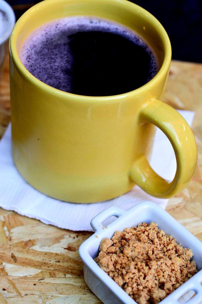 Chokolat serve quentão com gemada e paçoca (R$ 13). Foto: Divulgação