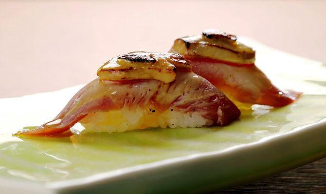Maguro foie gras. Foto: Divulgação