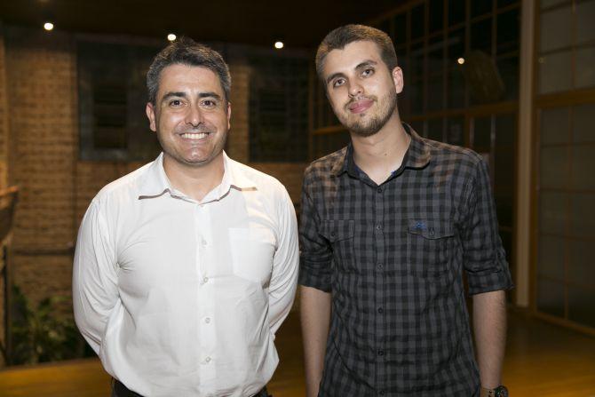 Luiz Sisson e Rafael Grube Hotéis Slaviero. Foto: Fabiane Sznicer/Divulgação